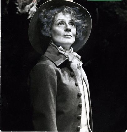 """Maggie Smith as Rosalind, """"As You Like It""""."""