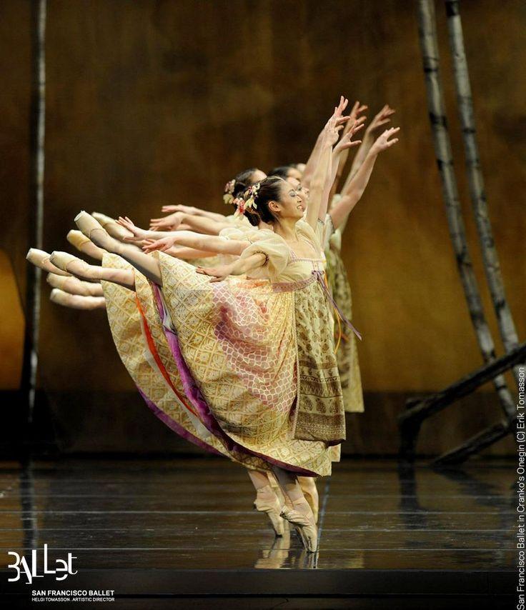 San Francisco Ballet in Cranko's Onegin - Ballet, балет, Ballerina, Балерина, Dancer, Danse, Танцуйте, Dancing