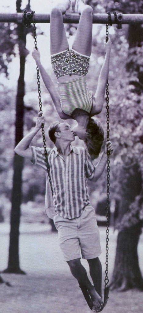 haha I love this, so cute. would be an adorable engagement pic!