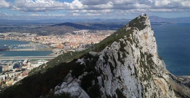 Vista del Peñón de Gibraltar./ EUROPA PRESS