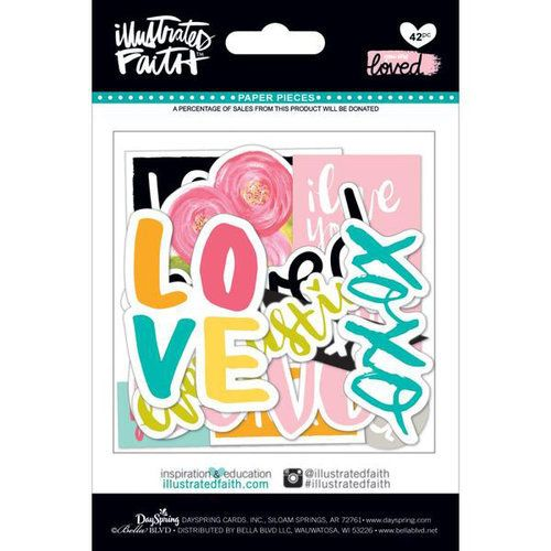 You are Loved Paper Pieces - Ninabrook Paper Crafting