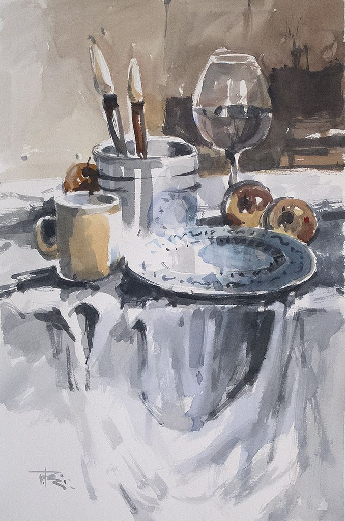Paint Like Impressionist In 10 Steps Painting Still Life Still