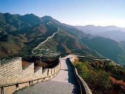 esta imagen queda en china es la muralla de china