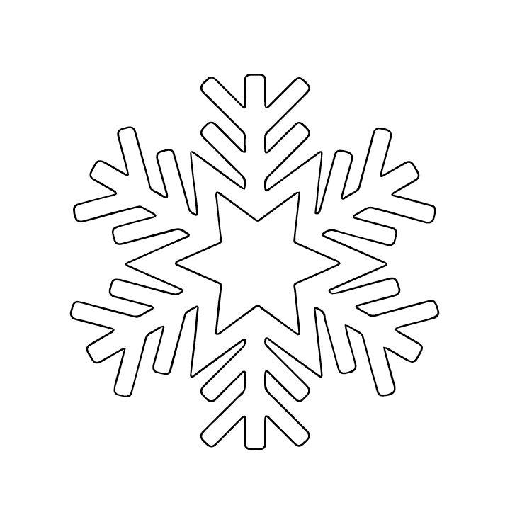 16 best Stencil images on Pinterest Stencil templates, Stencils - snowflake template