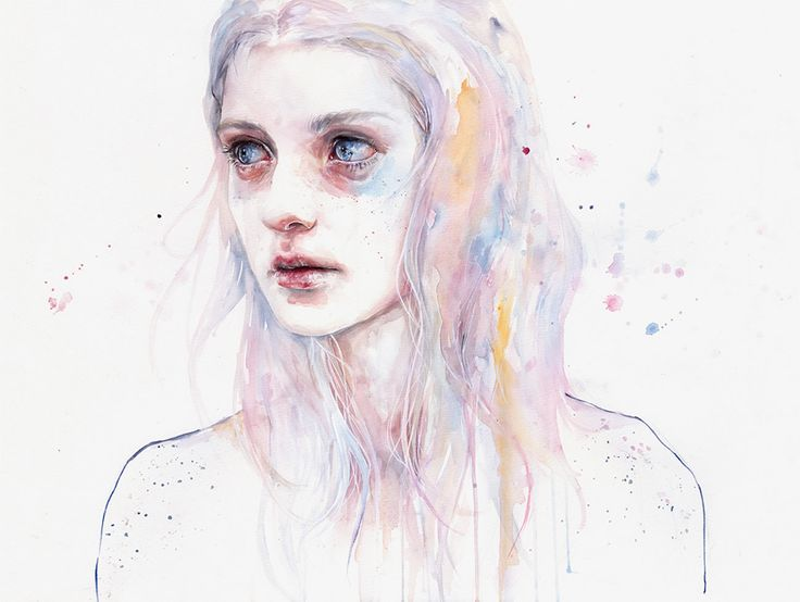 Oops, Agnes Cecile Spilled the Water   Illusion Magazine