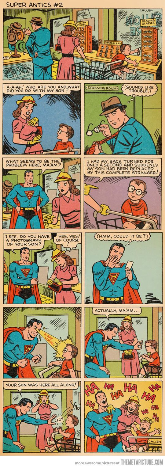 Hahahaha. Literally made me lol. So true Superman fans. :)