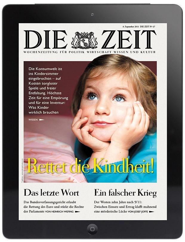 iPad App der ZEIT