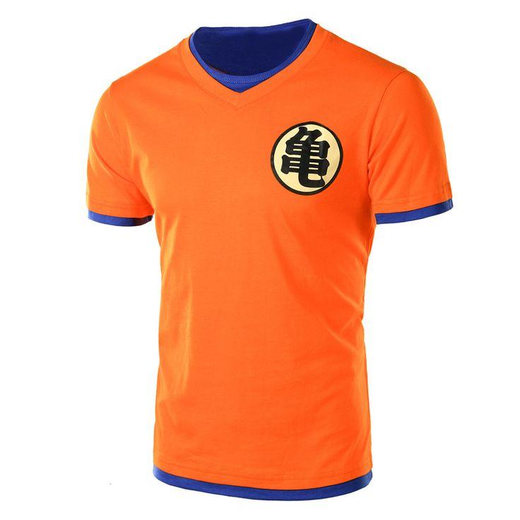 dragon ball z t shirt goku costume Men s High Quality tshirt Custom male t shirt. Click visit to buy #TShirt