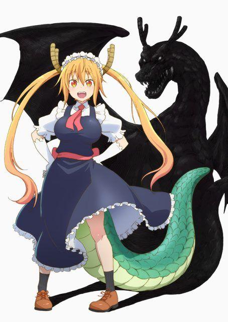 TV Anime Kobayashi-san Chi no Maid Dragon: Additional Cast Revealed