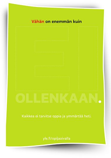 http://oppiminen.yle.fi/opijaoivalla