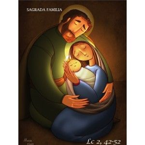 Balconera Sagrada Familia Jesús, José y María sed la salvación del alma mía!!!
