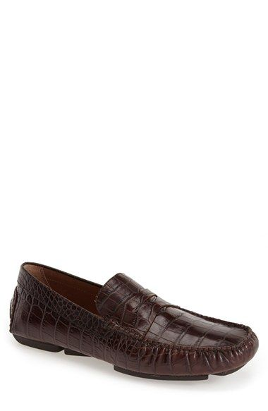 Free shipping and returns on Donald J Pliner 'Vinco' Driving Shoe (Men) (Online Only) at Nordstrom.com. Croc-print leather puts an exotic stamp on a bold driving shoe with versatile appeal.