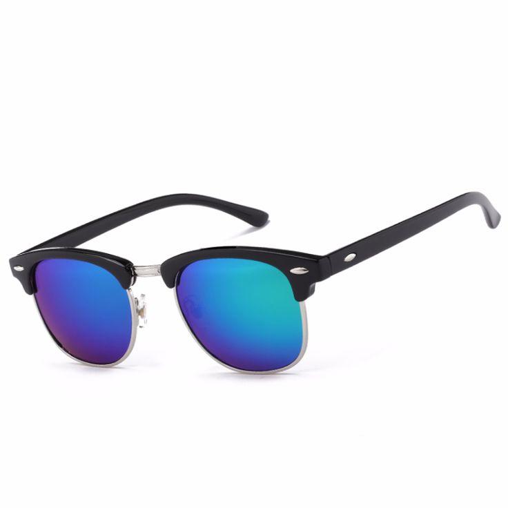 Half Metal High Quality Sunglasses //Price: $7.95 & FREE Shipping //