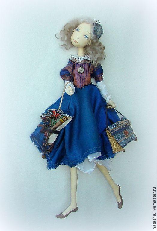 Купить Мэри Поппинс ВЕТЕР ПЕРЕМЕН. Настенная кукла. - авторская кукла, Мэри Поппинс