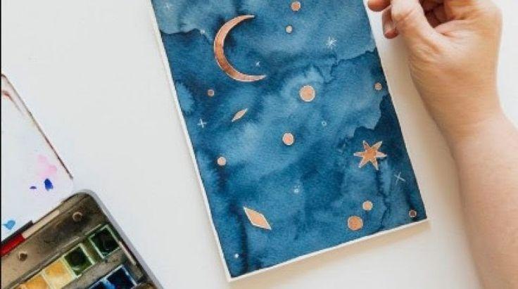26 Contoh Gambar Pemandangan Yg Indah Dan Mudah Dibuat Penjelasan Teknik Aquarel Beserta Contoh Gambar Lengkap Do Di 2020 Lukisan Dinding Lukisan Kaca Pemandangan
