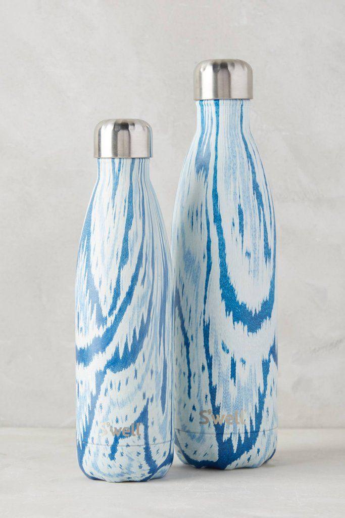 S'well Bottle Santorini 25 oz large water bottle Textile Collection