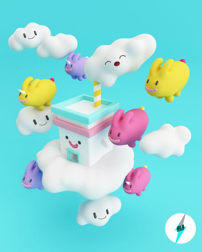 Fábrica en las Nubes - Yoshio Romero