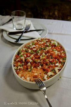 ensalada de marisco