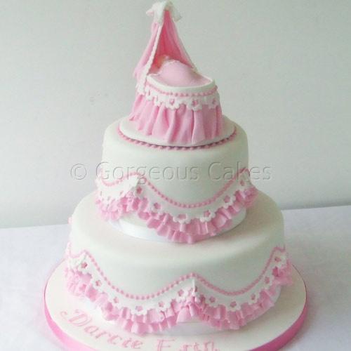 Girl Baptism Cake Images