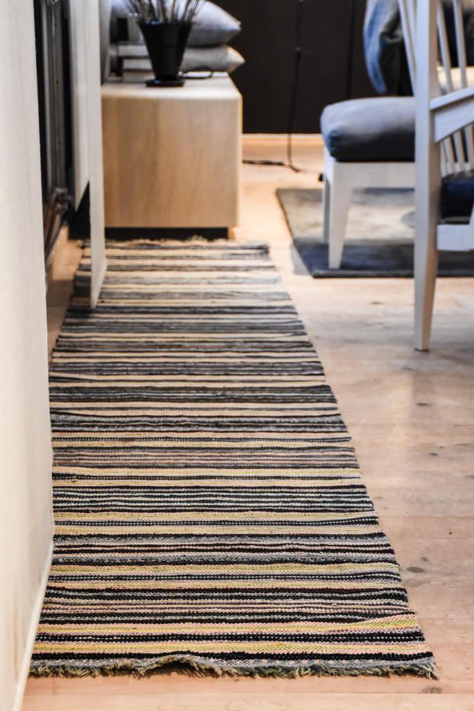 Swedish vintage rag rug 0635 - Rugs of Sweden