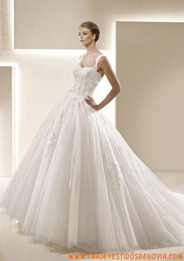 Perfect Selva Glamour Vestido de Novia La Sposa Princess Wedding GownsLa