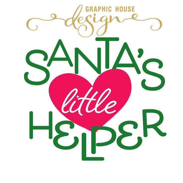 Santa's Little Helper svg Santa's Little Helper dxf Santa's Little Helper png Christmas svg Christmas dxf Santa's Little Helper clipart by GraphicHouseDesign on Etsy