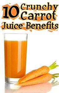 10 Carrot Juice Benefits