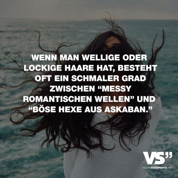 Visual Statements®️️ Wenn Sie welliges oder lockiges Haar haben, gibt es oft …   – Spaß // VISUAL STATEMENTS®