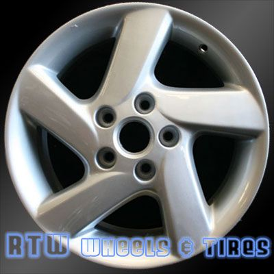 "Mazda 6 wheels for sale 2003-2004. 16"" Silver rims 64856 - http://www.rtwwheels.com/store/shop/mazda-6-wheels-for-sale-silver-64856/"