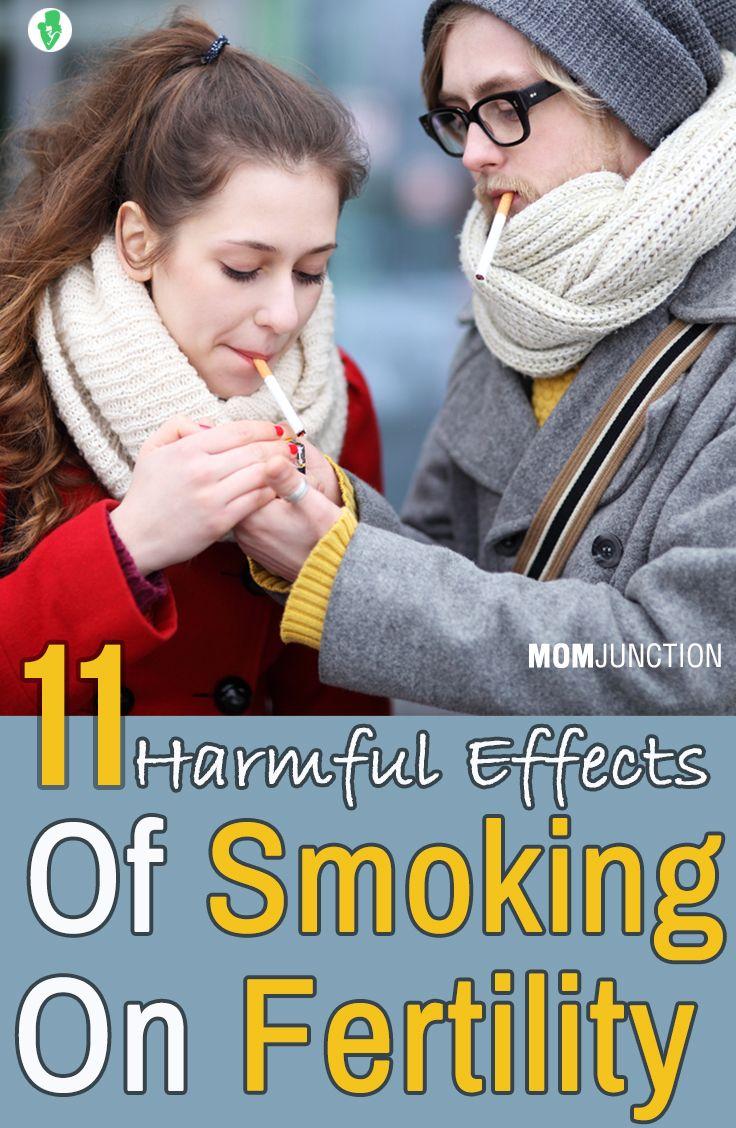 11 Harmful Effects Of Smoking On Fertility