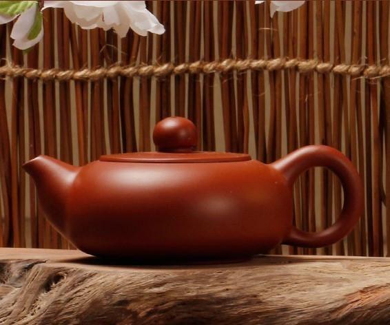 """Chaozhou Hong Ni """"Gui Fei"""" Clay Teapot by Zhang Lin Hao"""
