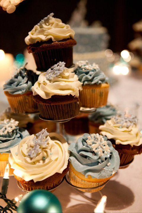 Best 25 Winter Wedding Cupcakes Ideas On Pinterest