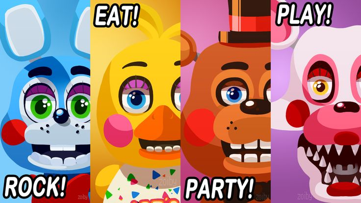 Five Nights at Freddy's 2 Poster by Zoiby on deviantART
