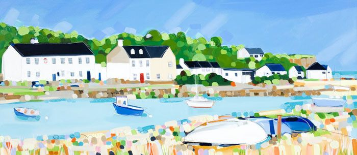 Red Wharf Bay by Janet Bell