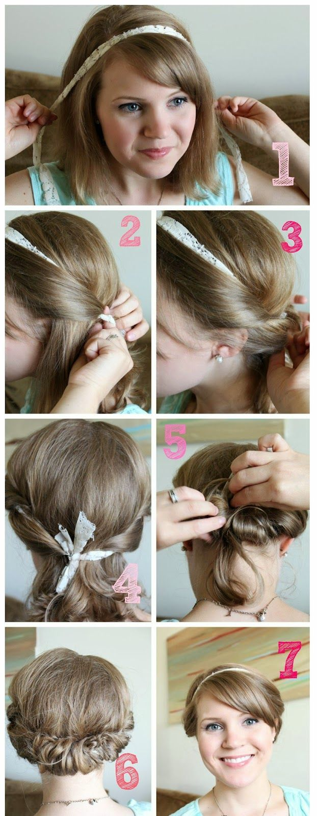 1000 Images About Petite Coupe On Pinterest Tuto Coiffure
