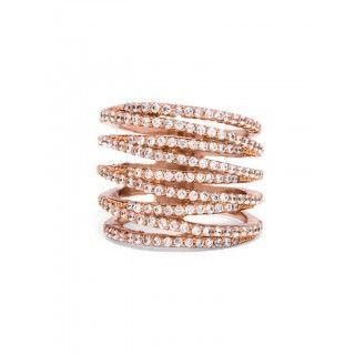Ice Twister Ring Ring   BaubleBar
