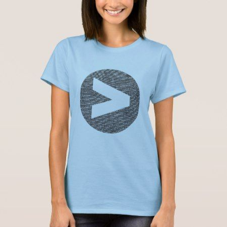 Greater Than Logo Fitted T-Shirt - click/tap to personalize and buy
