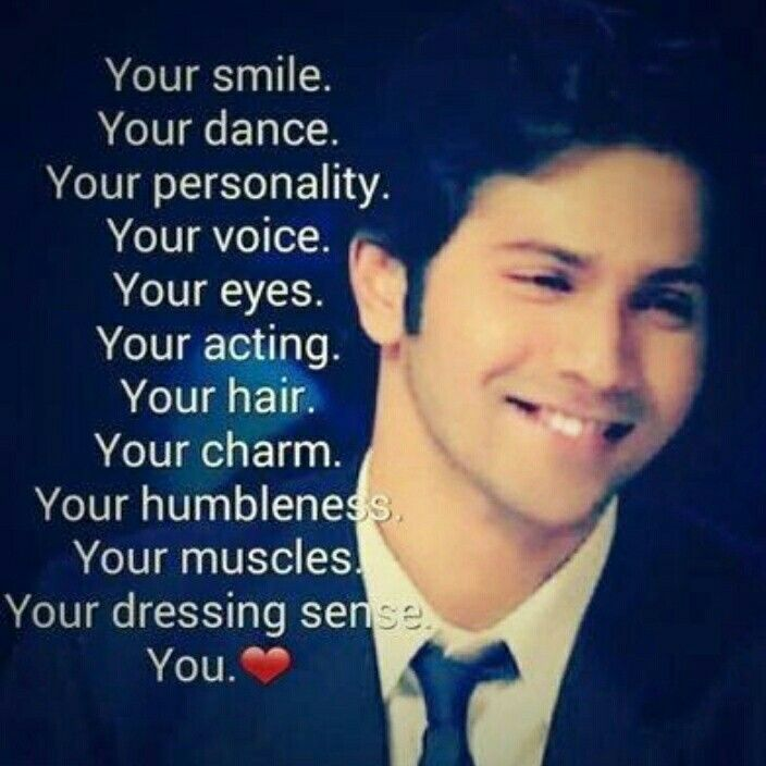 Love u Varun with all my heart... Bisma Izhar
