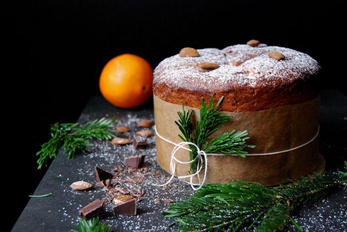A Christmas Chocolate Panettone