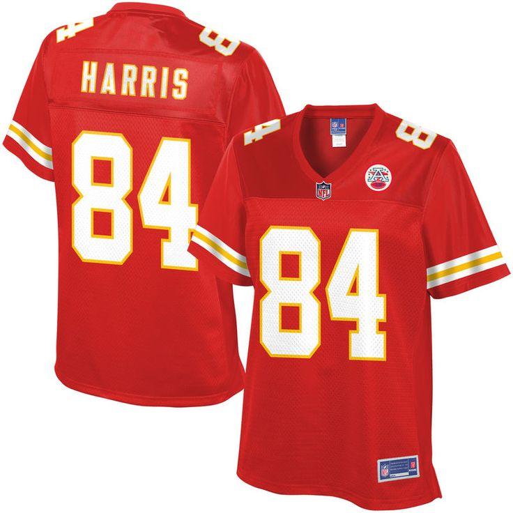NFL Pro Line Womens Kansas City Chiefs Demetrius Harris Team Color Jersey
