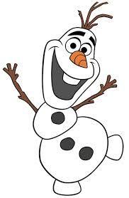 Imagem congelada da Disney Olaf                                                                                                                                                                                 Mais