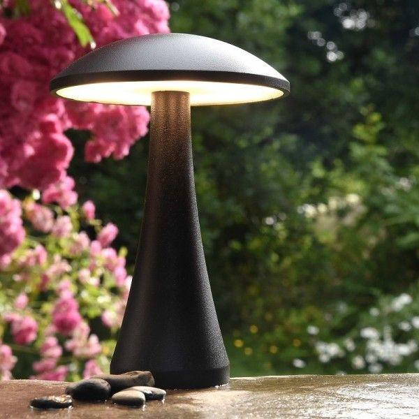 Elipta Short Mushroom Light 6 4w 12v Lighting For Gardens Mushroom Lights Garden Lighting Effects Outdoor Garden Lighting
