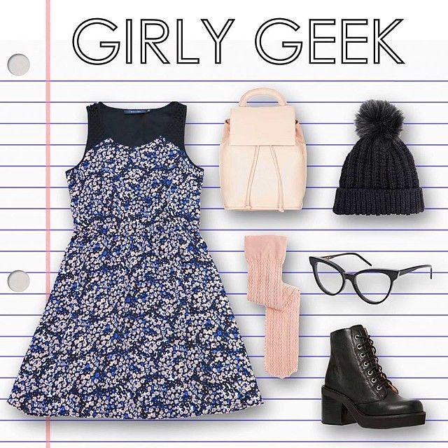 back to school: girly geek