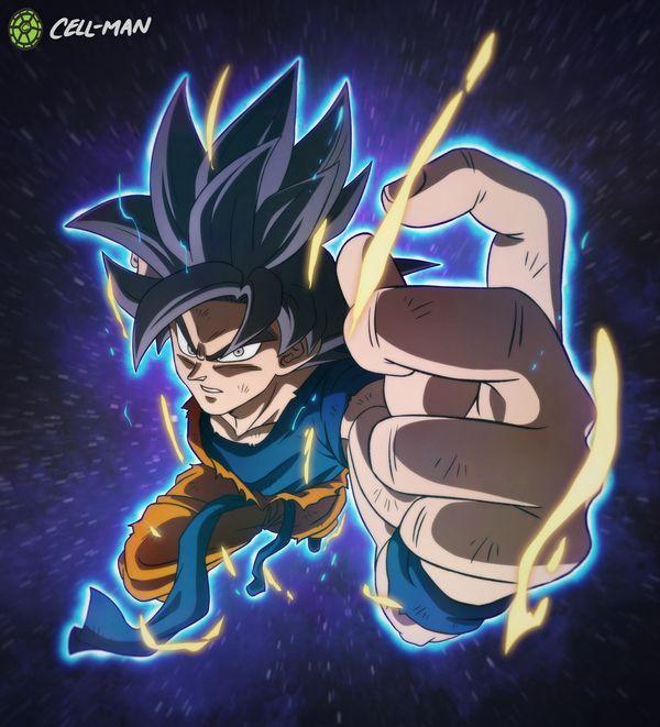 Goku Ultra Instinct Omen By Cell Man On Deviantart Anime Dragon Ball Super Dragon Ball Artwork Dragon Ball Art