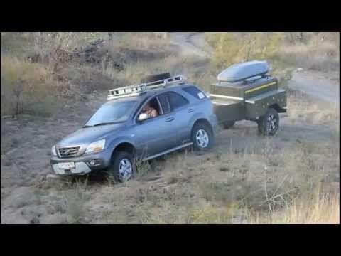 Хозяин Авоськи нашел приключения на лебедку - YouTube