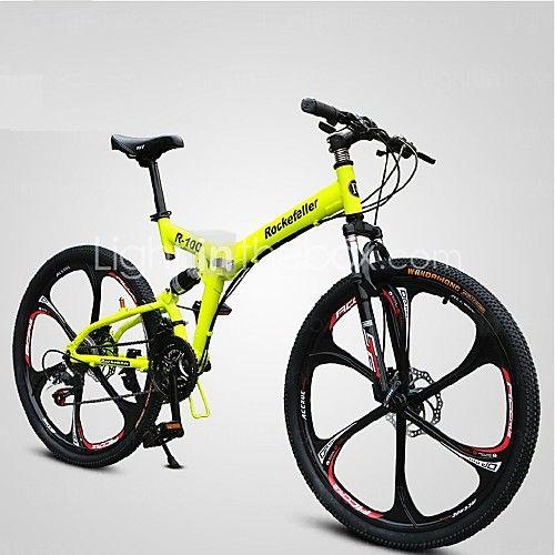 Vélo tout terrain / Vélo pliant Cyclisme 21 Vitesse 26 pouces/700CC Femme SHINING SYS Frein à Double Disque Fourche à SuspensionCadre de 2016 ? €291.05