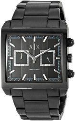 Armani Exchange Men's AX2222 Tenno Analog Display Quartz Black Watch