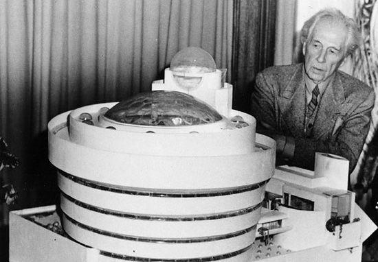 Frank Lloyd Wright, brilliant architect.
