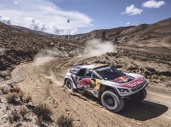 Stephane Peterhansel führt die Rallye Dakar 2017 nach einer Woche an