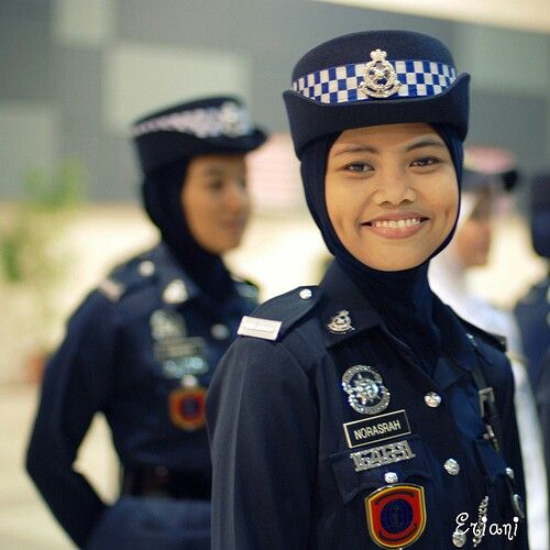 Hijab police. So who are they policing? If they walked up to a muslim man he would react in a violent way to being told what to do. The hijab bad press for islam.